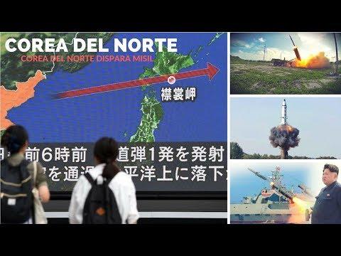 Alerta en Japón: Corea del Norte lanza un misil en dirección a Japón