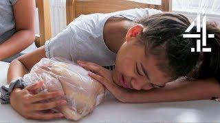 Family Faces Tough Choices After Looking After Chickens for 3 Weeks | Meat the Family