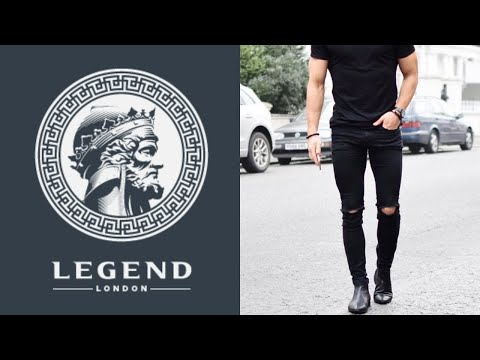 Legend London | Best Fitting Jeans ON THE MARKET | Jet Black & Ripped Jet Black Review