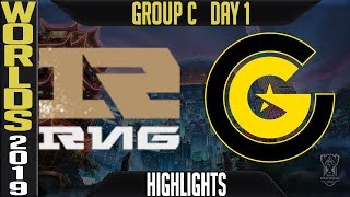 RNG vs CG Highlights Game 1 | Worlds 2019 Group C Day 1 | Royal Never Give Up vs Clutch Gaming