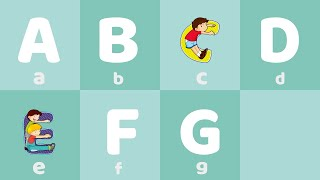 學習英語 ABC字母歌 輕鬆學英語 兒童教育 【西瓜寶寶學英語】xuexiyingyu English Alphabet