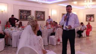 Признание в любви жениха на свадьбе 18.09.15 arthall.od.ua