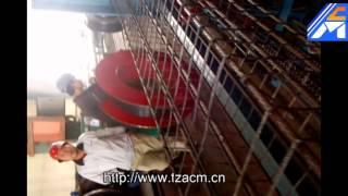 concrete square rectangle pile cage welding machine