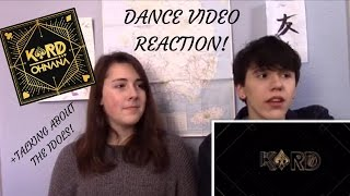 k a r d 카드 oh nana dance video reaction all about the group idols