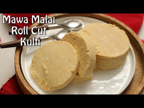Homemade Mawa Malai Roll Cut Kulfi | Summer Special Recipe | Chetna Patel Recipes