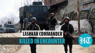 Top Lashkar commander among 2 killed during encounter in J&K's Shopian