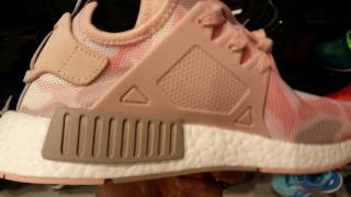 latest new nmd r1 women adidas originals runner shoes sneakers camo pink blue full hd 2017