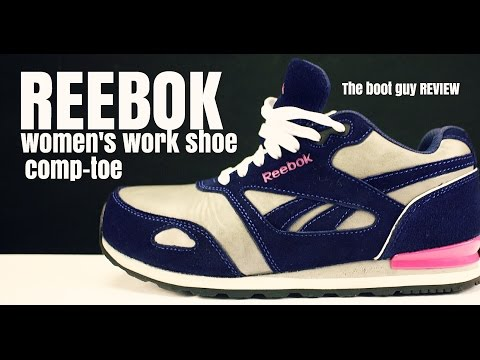 REEBOK WORK WOMEN'S RB976 PRELARIS RETRO JOGGER WITH COMPOSITE TOE [ The Boot Guy Reviews ]