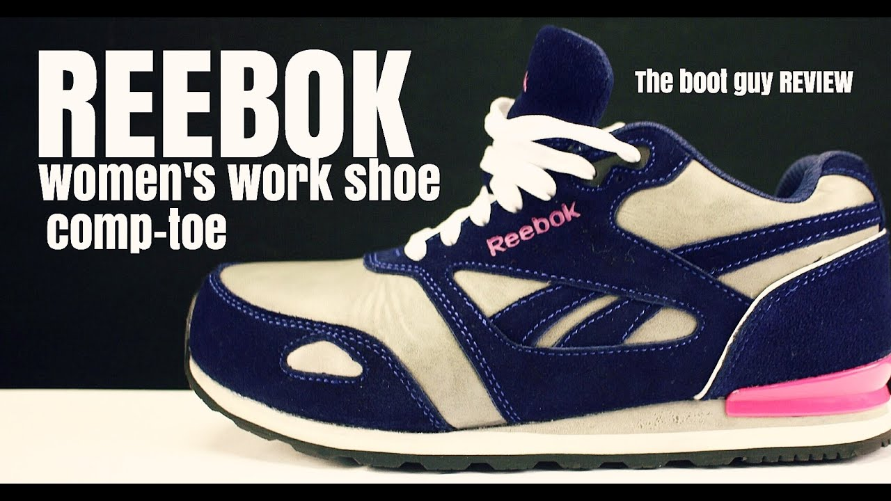 REEBOK WORK WOMEN'S RB976 PRELARIS RETRO JOGGER WITH COMPOSITE TOE [ The  Boot Guy Reviews ] - YouTube