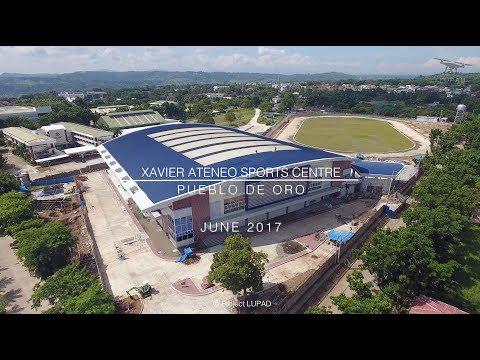 Xavier Ateneo Sports Centre June 2017 Progress Update 4K