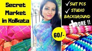 Secret Shopping Place in Kolkata | Sadasukh Katra | Dress Material, Bridal Wear, Sari + MORE