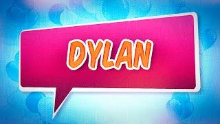 Joyeux anniversaire Dylan