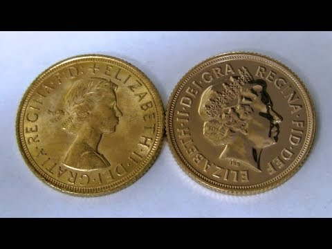 Great Britain Gold Sovereign Pickups