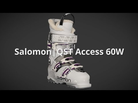 2018 Salomon QST Access 60W Womens Boot Overview by SkisDotCom