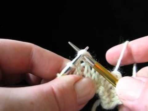 K2tog - Knit 2 Together
