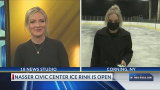 Corning ice rink opens today