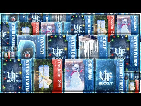 EVERY ULTIMATE FREEZE PACK OPENING! 80 PACKS!!! $500 VALUE! HOLY CRAP! BEST 90 OVR PULLS EVER!