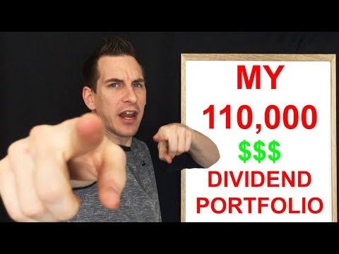 My Dividend Portfolio For Passive Income