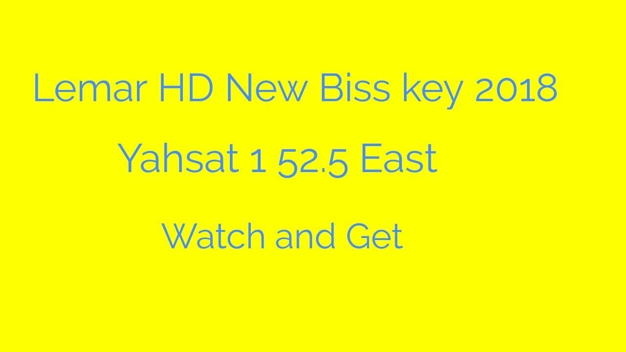Lemar HD New Biss key 2018