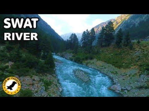 Swat River - Swat - Khyber Pakhtunkhwa - Pakistan