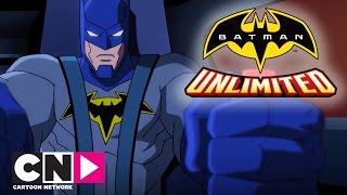 Batman Unlimited | Battle In The Streets | Cartoon Network