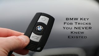 BMW Key Fob Tricks / Hidden Features You NEVER Knew Existed