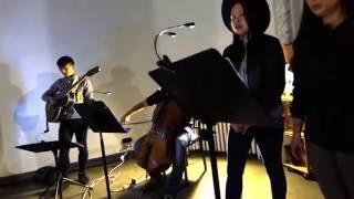 at the Ridge 3-19-2016 Roger Kim - guitar, composition Andrea Wang ...