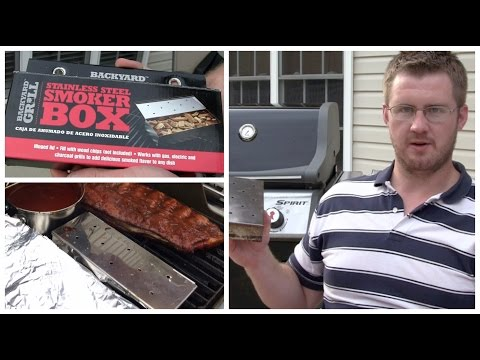 Backyard Grill Smoker Box Review