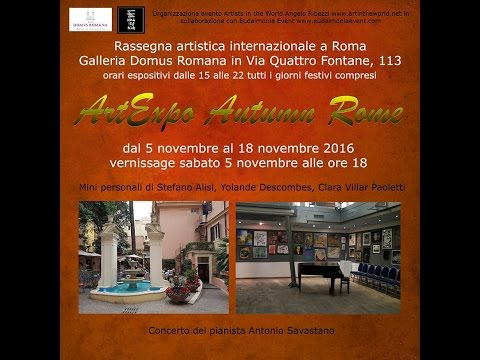 ArtExpo Autumn Rome - il vernissage