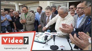 احتفالية الوفد لتكريم السيد البدوى بحضور مستشار الرئيس ووكيل البرلمان