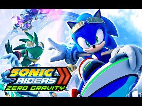 Sonic Riders Zero Gravity (Wii U)