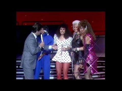 Dick Clark Interviews Mary Jane Girls - American Bandstand 1983