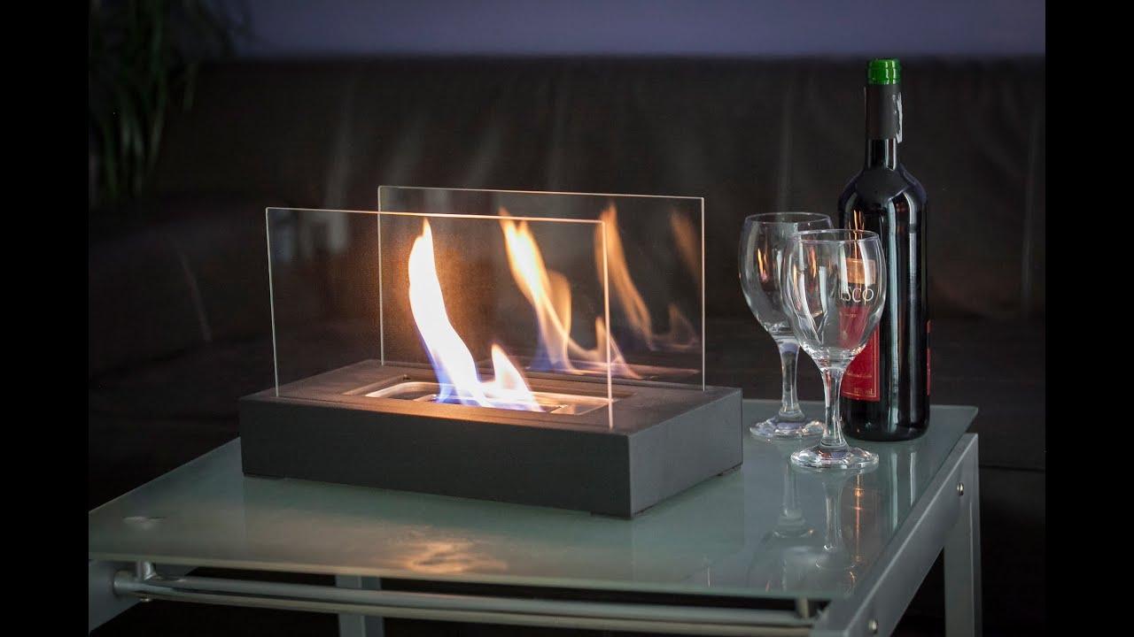 biofireplace table top youtube