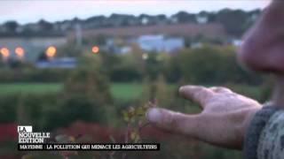 Canal + la pollution en Mayenne -