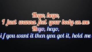 RITA ORA (ft Chris Brown) Body On Me Lyrics and karaoke