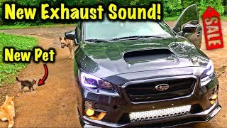 Rebuilt 2017 Subaru WRX Gets Exhaust