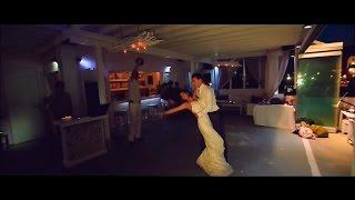 Свадебный танец. Экспресс постановка. Невеста в платье со шлейфом