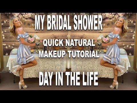 bridal-shower,-makeup-tutorial,-life-hacks-|-vlog
