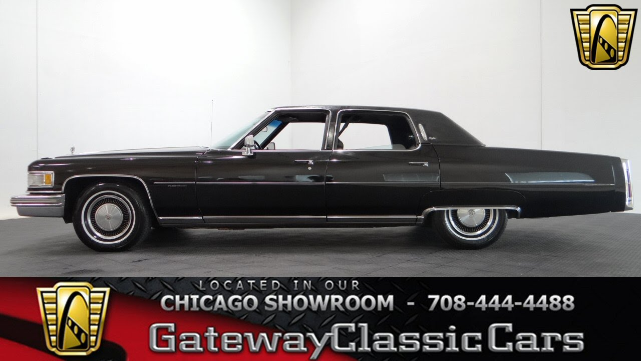 1976 Cadillac Fleetwood Gateway Classic Cars Chicago #1009 - YouTube