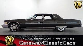 1976 Cadillac Fleetwood Gateway Classic Cars Chicago #1009