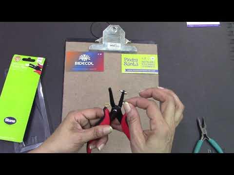 Metal Hole Punch Pliers ( pinza ponchadora)
