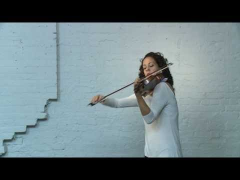 Eugène Ysaÿe, Sonata no.2 for solo violin Op. 27 'Malinconia', performed by Andréa Tyniec