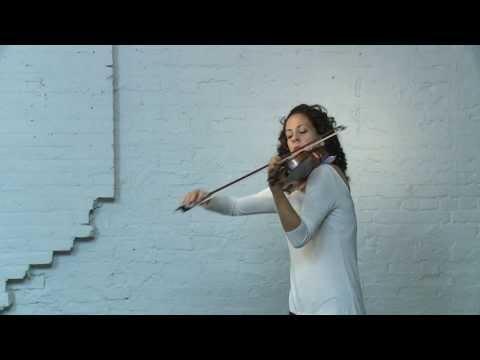 Eugène Ysaÿe, Sonata no.2 for solo violin Op. 27 'Malinconia', performed by Andréa Tyniec