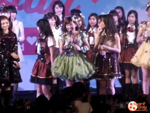 [Fancam] Pengumuman Haruka Project Unit Baru | JKT48 Placard HS Fest, Istora Senayan 07-12-14