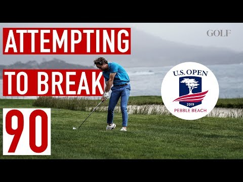 Can EAL Break 90 From The Tips On Pebble's US Open Layout?