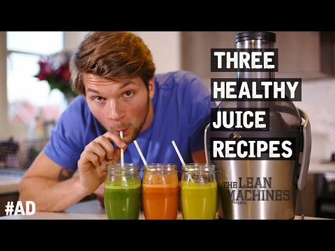 3 Healthy Juice Recipes That Taste Great!