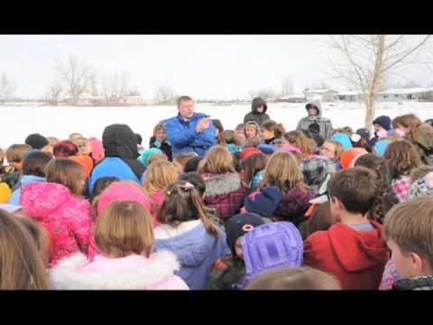 Safety Drill at Sagebrush Elementary School
