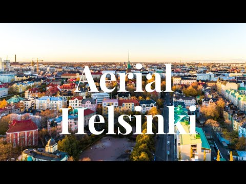 Beautiful Helsinki- Aerial 4K ( Best way to see Finland)