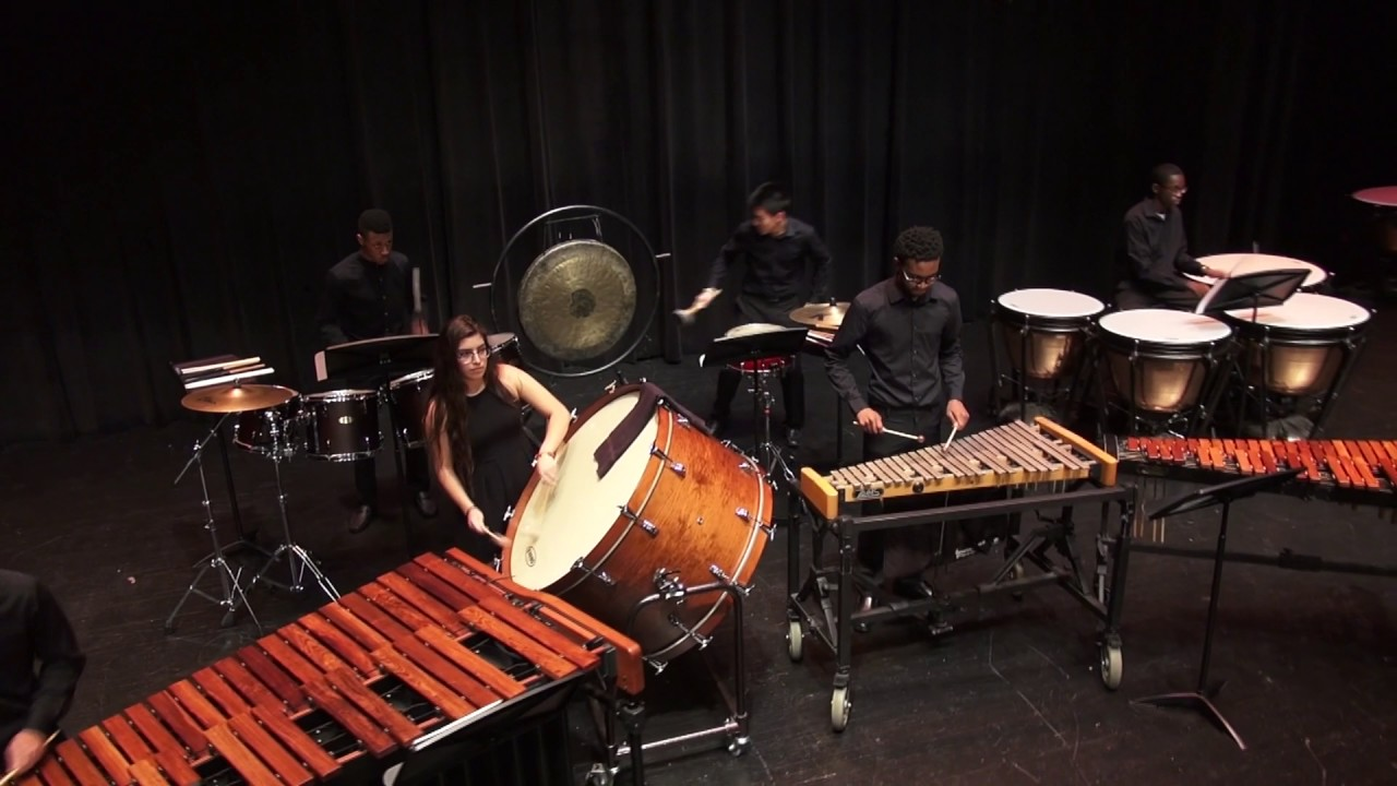 Mercury Rising by Nathan Daughtrey- 2017 Westfield Percussion Ensemble