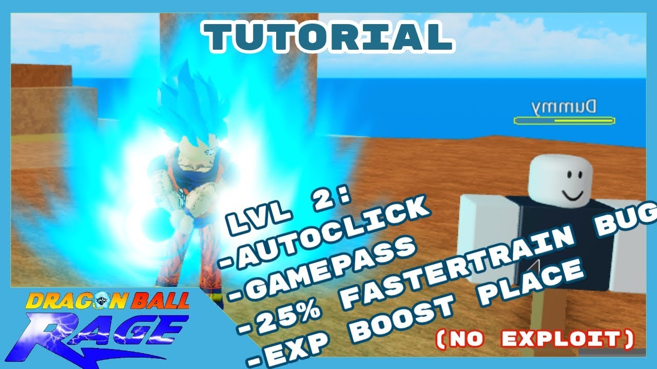 Roblox Dragonball Rage Script Autostats Fully Afk New 2019 By